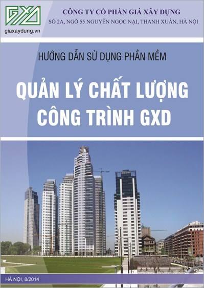 Phần mềm Quản lý chất lượng công trình xây dựng QLCL GXD bản 3.0