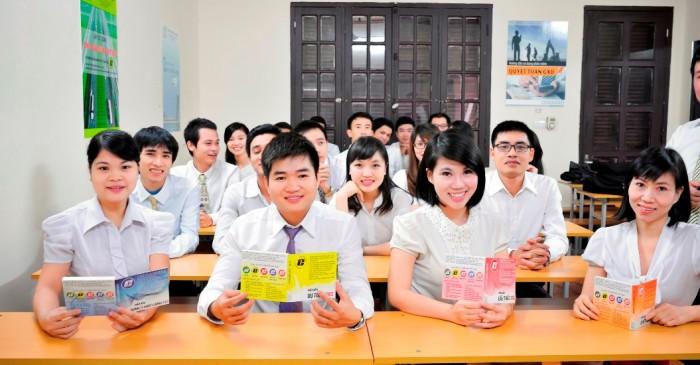 lớp học tại công ty cổ phần giá xây dựng