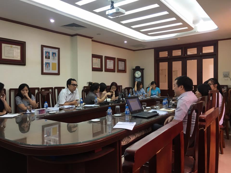 Một buổi họp tại Cầu Lớn Hầm, TEDI, 278 Tôn Đức Thắng trao đổi về ứng dụng phần mềm Dự toán GXD