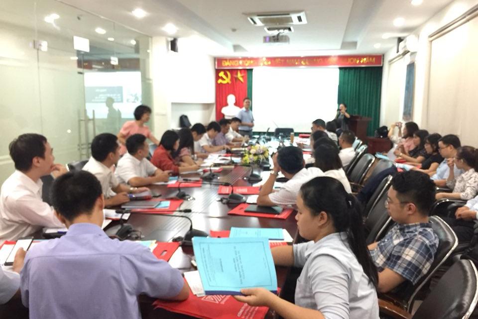 GXD đào tạo lập Tổng mức đầu tư và hiệu quả dự án cho Văn Phú Invest