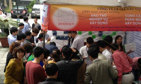Dự toán GXD lần đầu tiên ra mắt và tràn ngập tại Quảng Ninh
