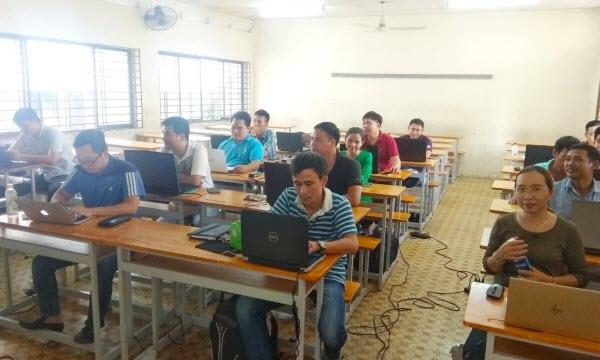 Lớp Kỹ sư QS GXD khóa 5 khai giảng tại Hồ Chí Minh