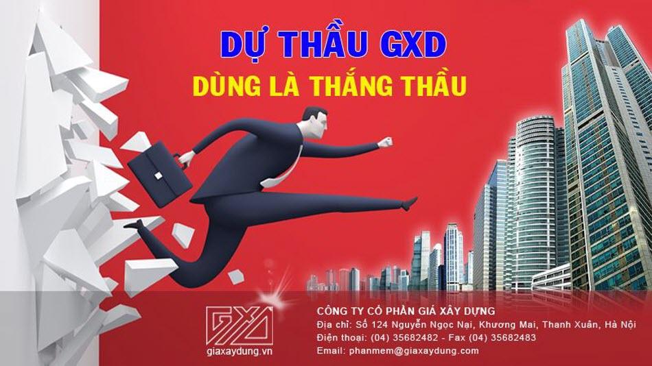 Phần mềm Dự thầu GXD khác gì so với phần mềm Dự toán GXD?