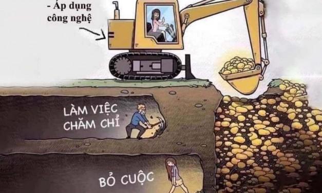 Thế giới luôn luôn có sự đào thải, thay thế đừng lấy lý do quá bận để thay đổi